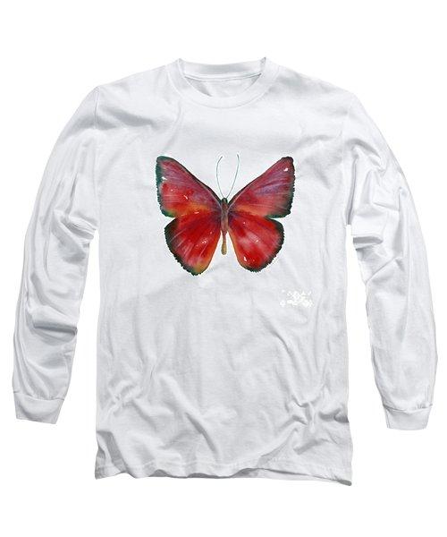 16 Mesene Rubella Butterfly Long Sleeve T-Shirt