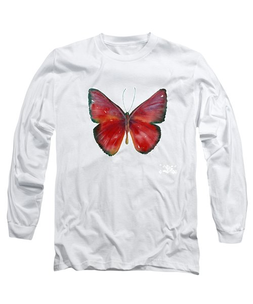 16 Mesene Rubella Butterfly Long Sleeve T-Shirt