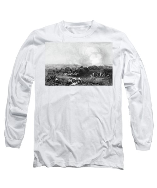 1770s Battle Ground At Stillwater 1777 Long Sleeve T-Shirt