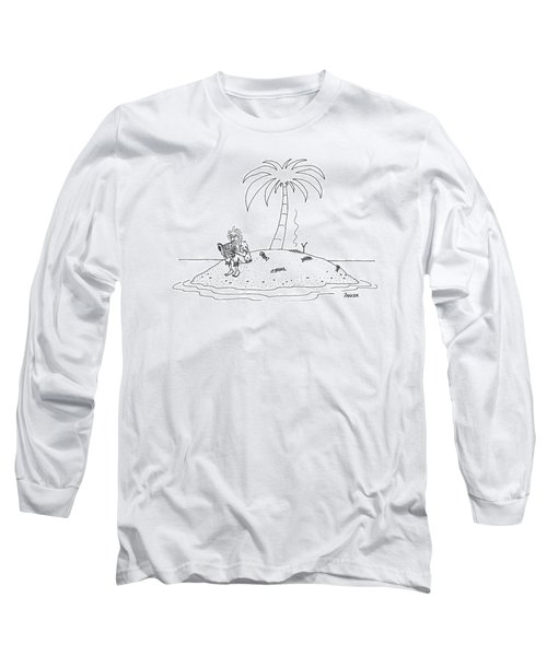 New Yorker February 14th, 2000 Long Sleeve T-Shirt