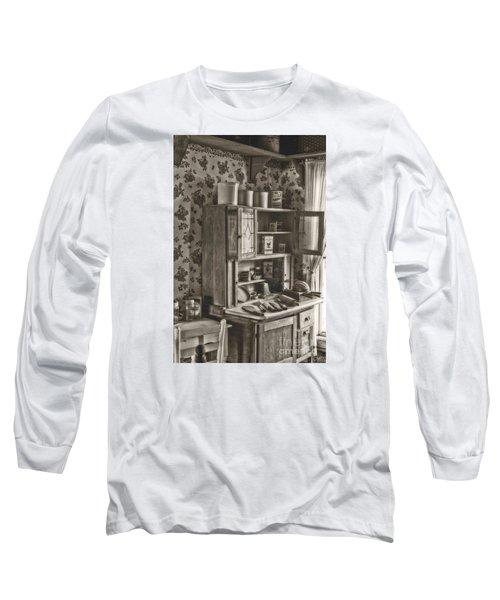 1800s Kitchen Long Sleeve T-Shirt