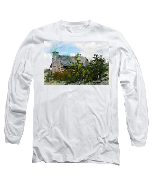 Long Sleeve T-Shirt featuring the photograph 1810 Living by Robert Pearson