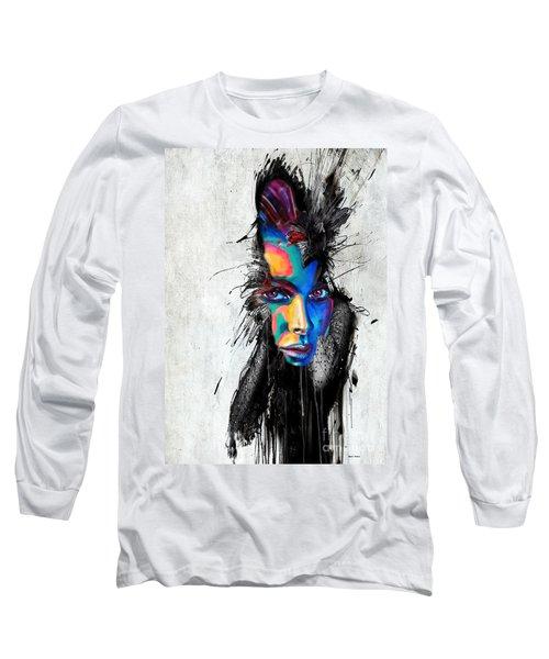 Facial Expressions Long Sleeve T-Shirt