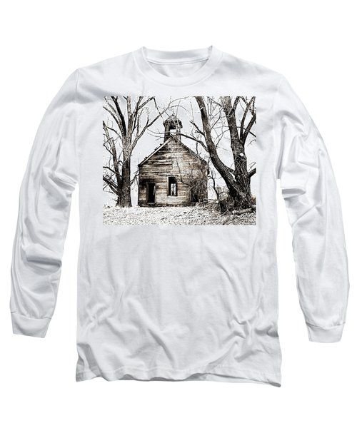 1904 School House Memory Long Sleeve T-Shirt by Sonya Lang