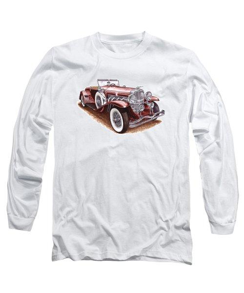 1930 Dusenberg Model J Long Sleeve T-Shirt