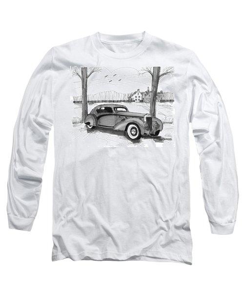 1937 Delage D8 120 Long Sleeve T-Shirt