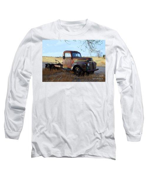 1940s Ford Farm Truck Long Sleeve T-Shirt