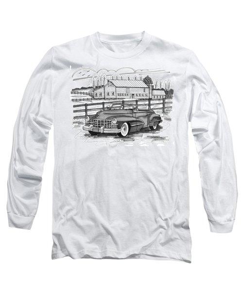 1947 Cadillac Model 52 Long Sleeve T-Shirt