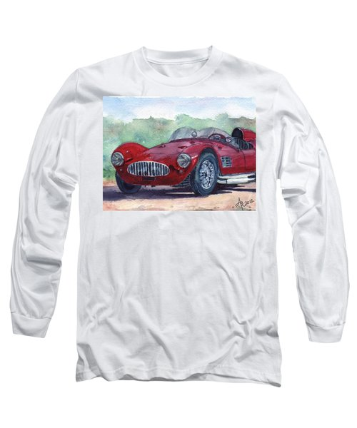 1954 Maserati A6 Gsc Tipo Mm Long Sleeve T-Shirt
