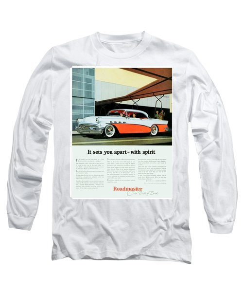 1956 - Buick Roadmaster Convertible - Advertisement - Color Long Sleeve T-Shirt