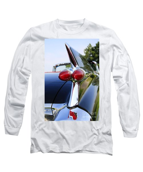 1959 Cadillac Long Sleeve T-Shirt by Dennis Hedberg