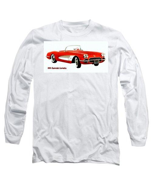 1959 Corvette Long Sleeve T-Shirt