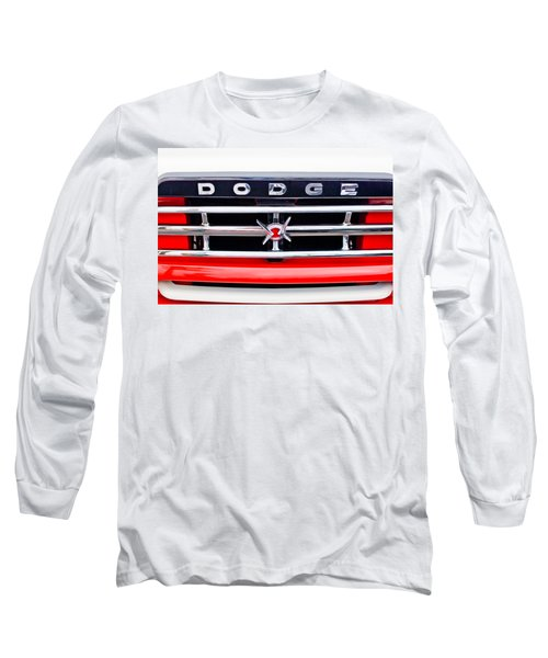 1960 Dodge Truck Grille Emblem Long Sleeve T-Shirt