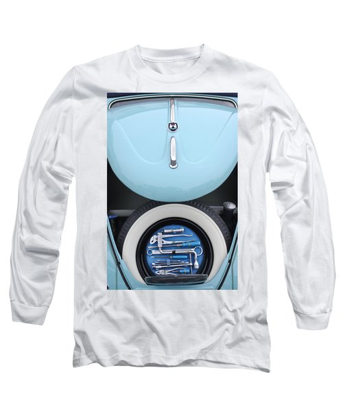1962 Volkswagen Vw Bug Tool Kit Long Sleeve T-Shirt