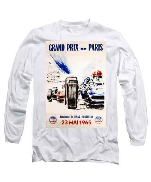 1965 Grand Prix De Paris Long Sleeve T-Shirt