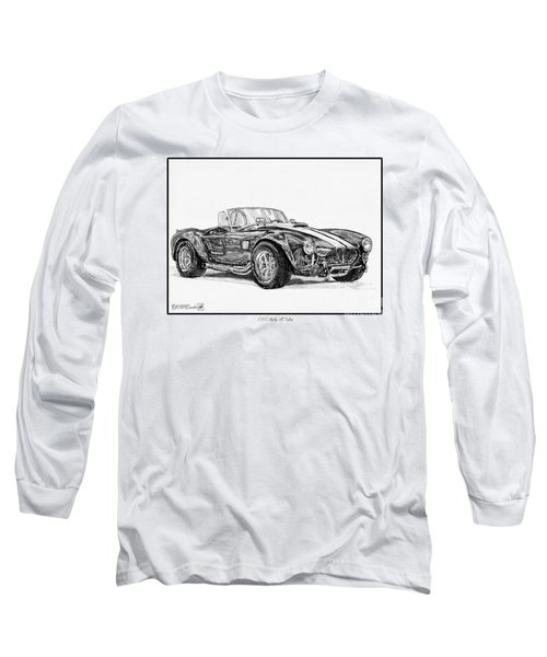 1965 Shelby Ac Cobra Long Sleeve T-Shirt by J McCombie