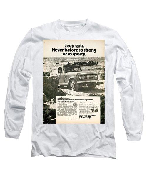 1972 Jeep Commando Long Sleeve T-Shirt