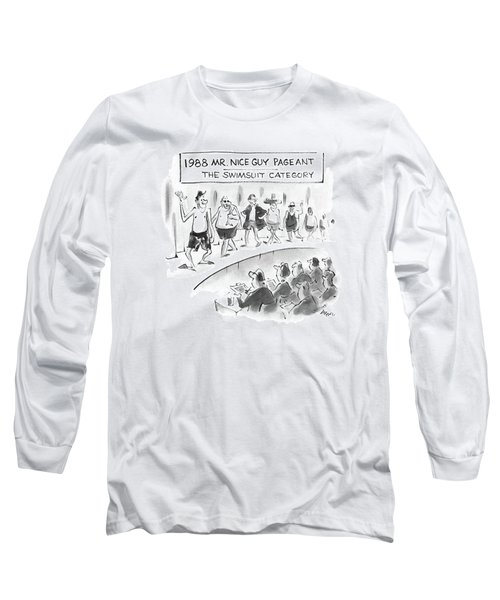 1988 Mr. Nice Guy Pageant-the Swimsuit Category Long Sleeve T-Shirt