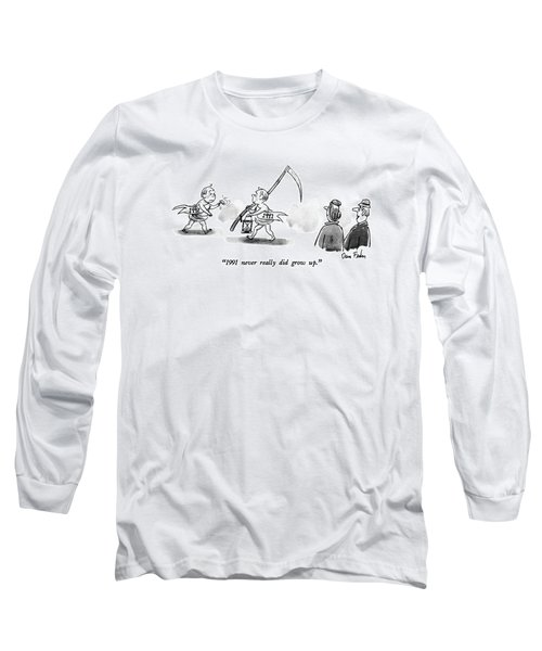 1991 Never Really Did Grow Up Long Sleeve T-Shirt
