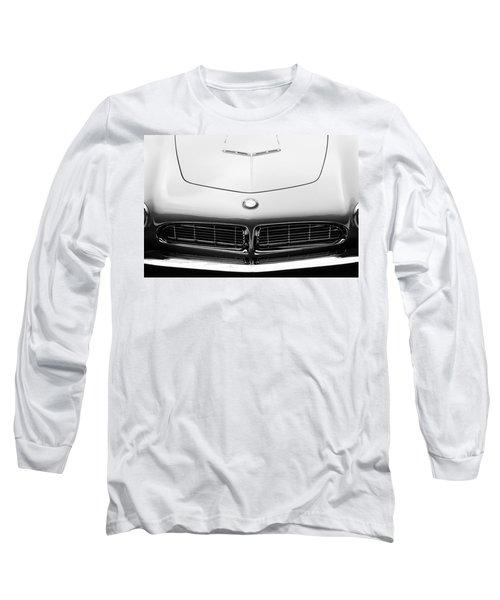 1958 Bmw 507 Series II Roadster Hood Emblem Long Sleeve T-Shirt