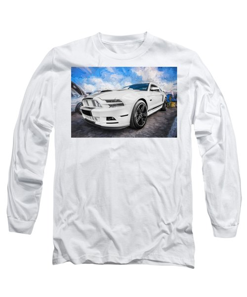 2014 Ford Mustang Gt Cs Painted  Long Sleeve T-Shirt