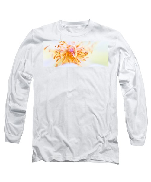 Abstract Flower Long Sleeve T-Shirt by Ulrich Schade