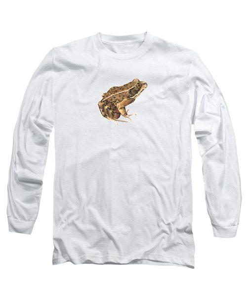 California Red-legged Frog Long Sleeve T-Shirt by Cindy Hitchcock
