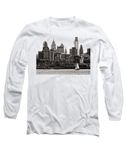 Center City Philadelphia Long Sleeve T-Shirt