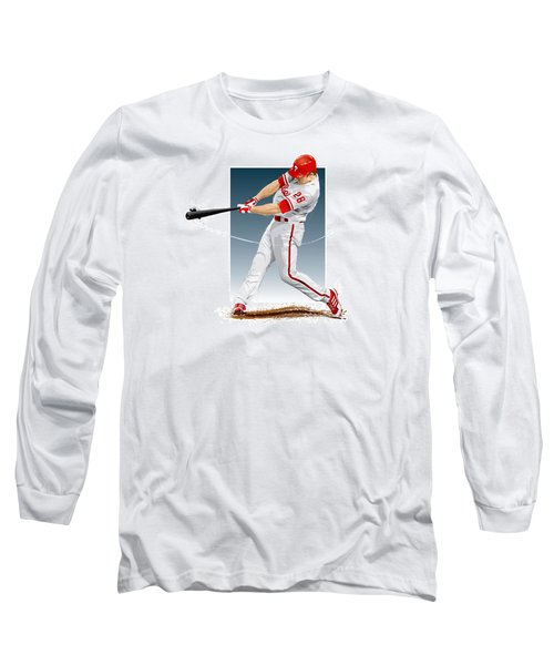Chase Utley Long Sleeve T-Shirt