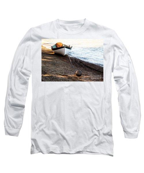 China Beach Rowboat Long Sleeve T-Shirt