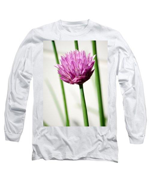 Chives Long Sleeve T-Shirt by Jouko Lehto