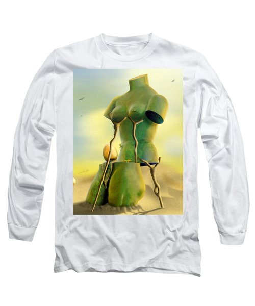 Crutches Long Sleeve T-Shirt