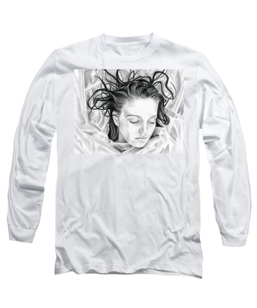 Forget Me Not - Laura Palmer - Twin Peaks Long Sleeve T-Shirt by Fred Larucci