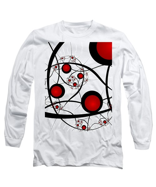 Fractal Balance Long Sleeve T-Shirt