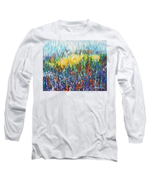 Glowy Clearing Long Sleeve T-Shirt