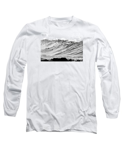 Gold Nugget Bw Long Sleeve T-Shirt