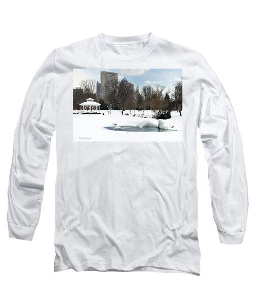 D48l3 Goodale Park Photo Long Sleeve T-Shirt