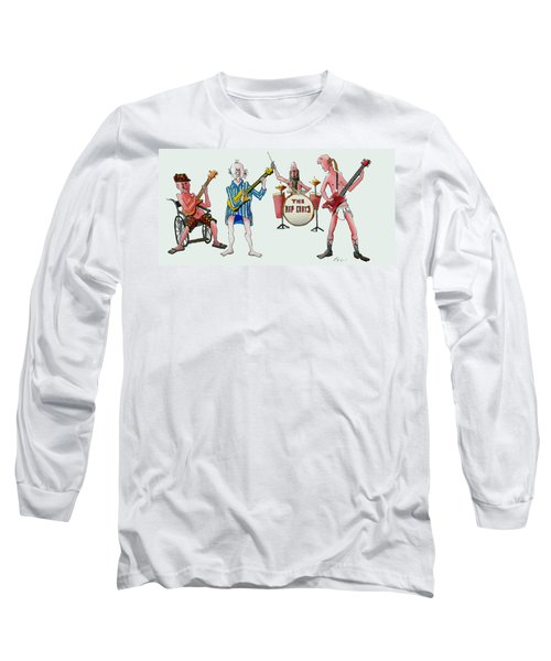 Sixties And Seventies Musicians Long Sleeve T-Shirt