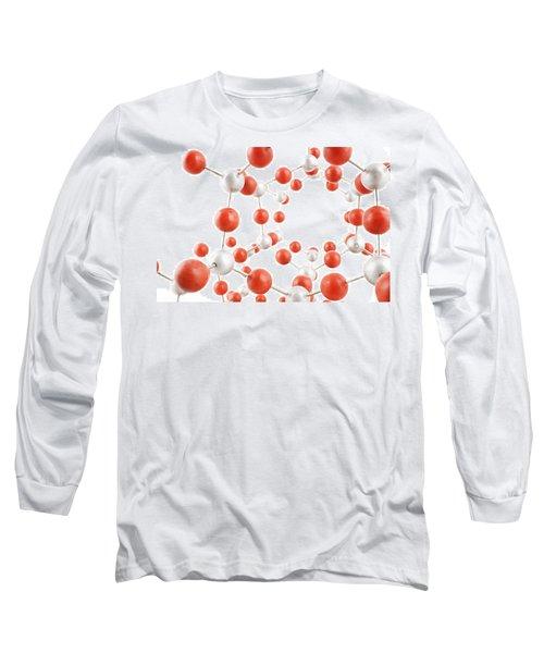 Molecular Model Long Sleeve T-Shirt