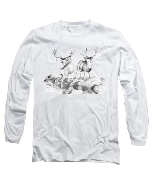 2 Muley Bucks Long Sleeve T-Shirt