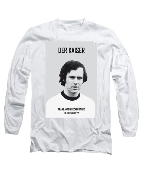 My Maradona Soccer Legend Poster Long Sleeve T-Shirt