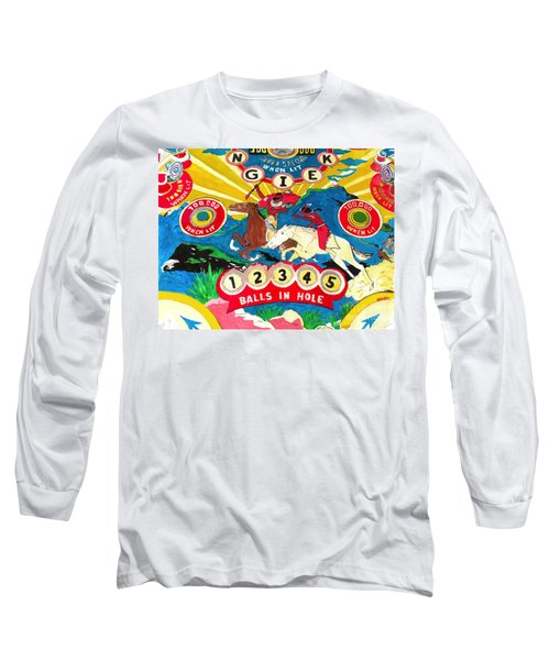 Native Pinball Long Sleeve T-Shirt