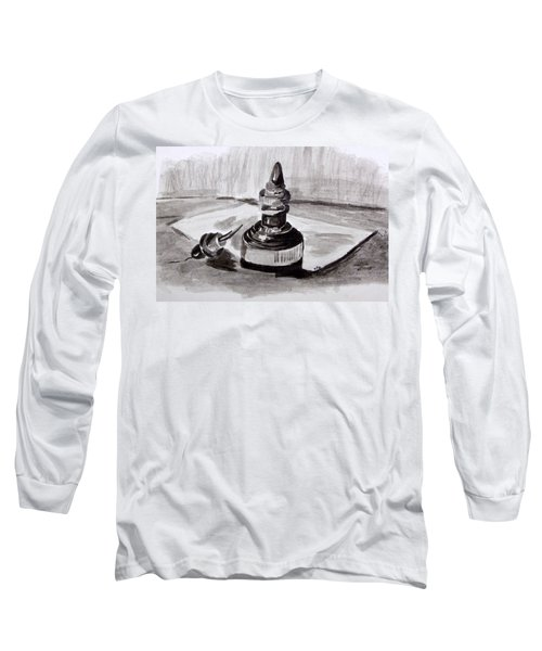Pen And Ink Long Sleeve T-Shirt