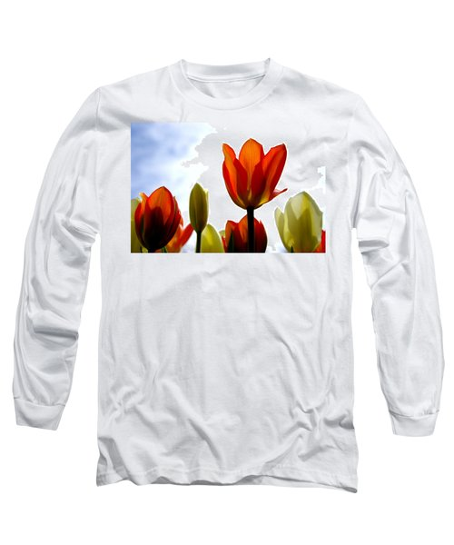 Long Sleeve T-Shirt featuring the photograph Reaching For The Sun by Marilyn Wilson