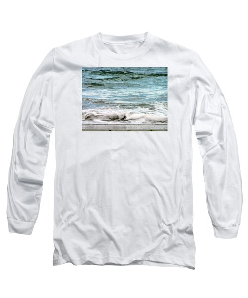 Sea Long Sleeve T-Shirt by Oleg Zavarzin