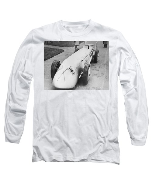 Silver Bullet Race Car Long Sleeve T-Shirt