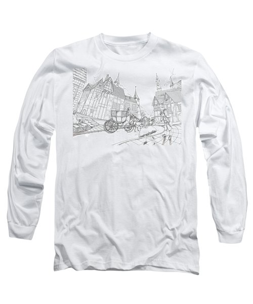 The Bavarian Village Long Sleeve T-Shirt