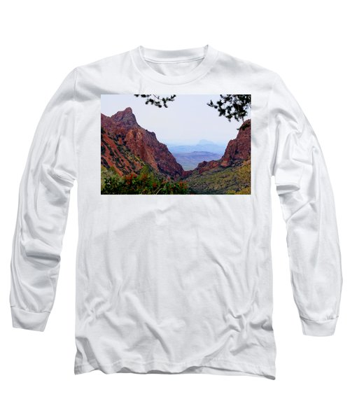Long Sleeve T-Shirt featuring the photograph The Window by Dave Files