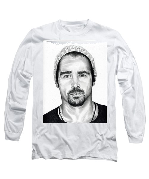Total Recall  Colin Farrell Long Sleeve T-Shirt by Fred Larucci