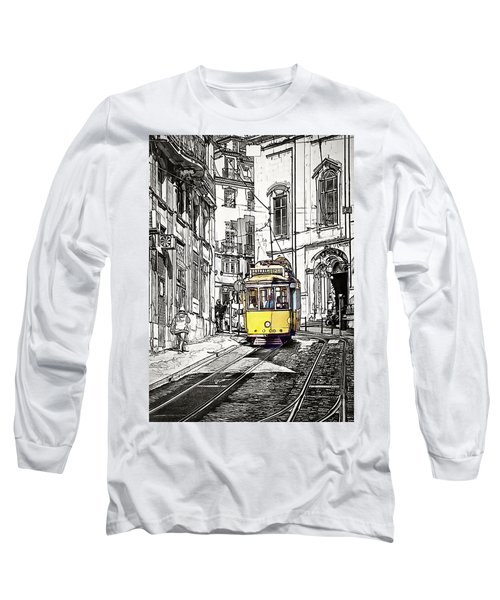 Lisbon Tram 28 Long Sleeve T-Shirt